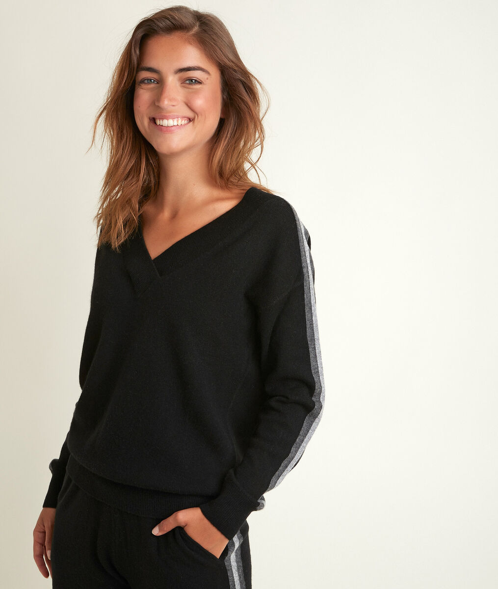 Romy brown wool and cashmere pullover PhotoZ | 1-2-3