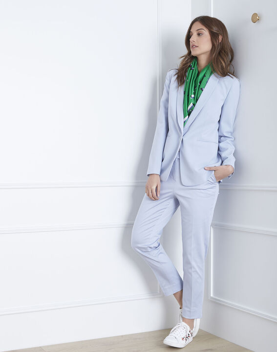 Rubis sky blue cigarette trousers (2) - Maison 123