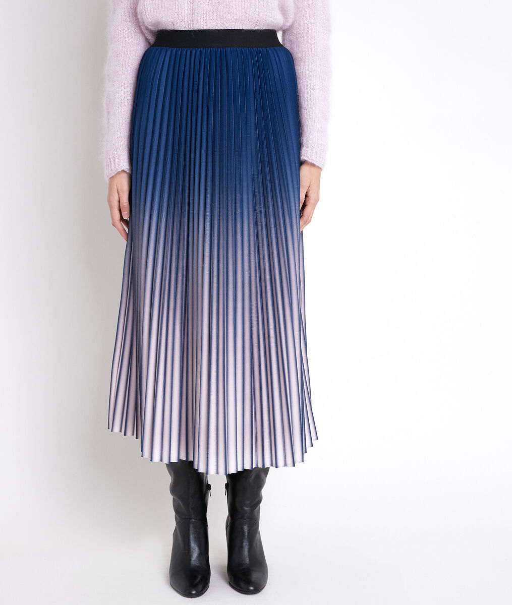 ELARA tie-dye pleated skirt PhotoZ | 1-2-3