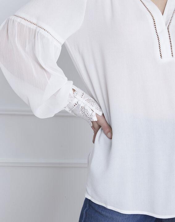 Veronica ecru lace blouse (3) - Maison 123