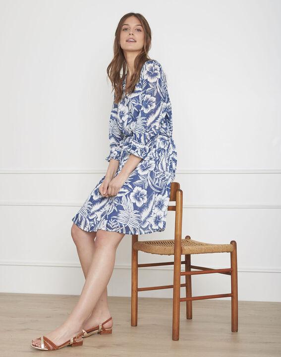 Liane white exotic print dress PhotoZ | 1-2-3