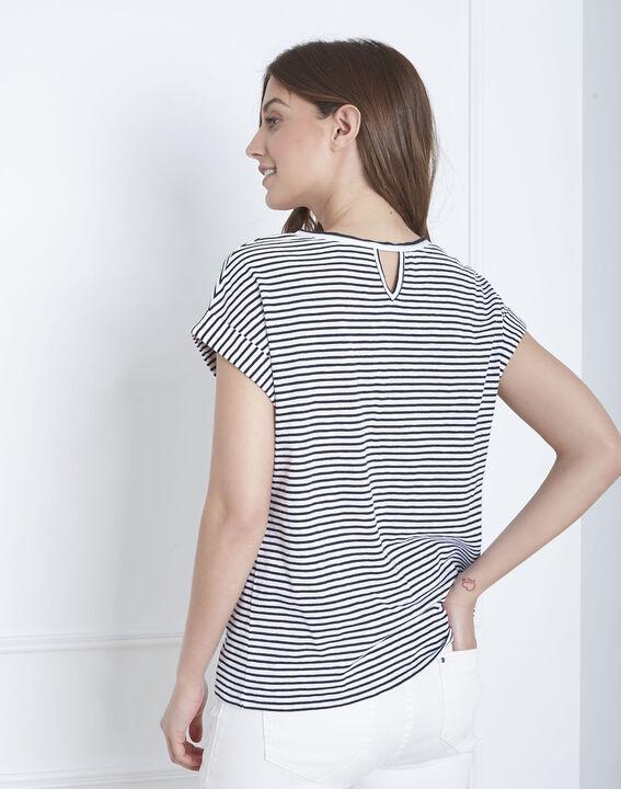 Paddington striped slogan t-shirt (4) - Maison 123