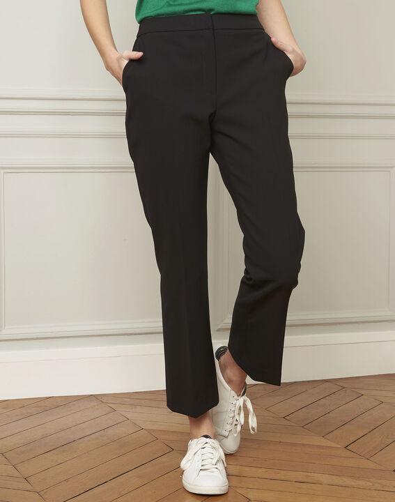 Gaston flared black trousers (1) - Maison 123