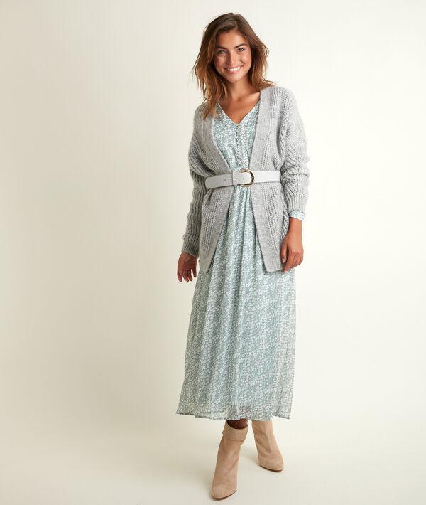 Nety long printed dress PhotoZ | 1-2-3